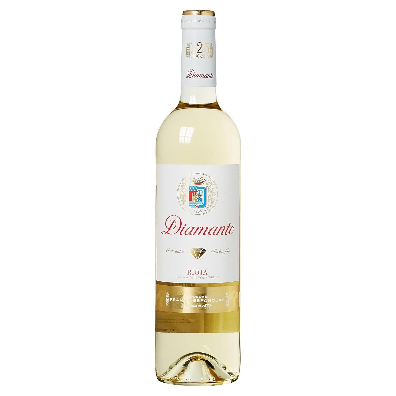 Diamante Vino Blanco Rioja Semi Dulce - 1 Botella: Amazon.es: Amazon Pantry