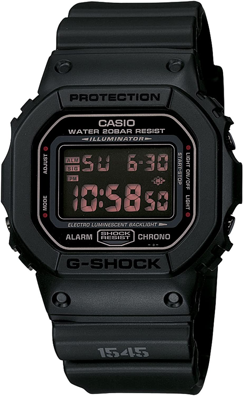 Casio Men s DW5600MS-1CR G-Force Military Concept Black Digital Watch