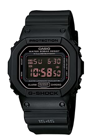 e85c7407973 Image Unavailable. Image not available for. Color  Casio Men s DW5600MS-1CR  G-Force Military Concept Black Digital Watch