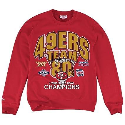 0d04b514 Mitchell & Ness Mens NFL Team of the Year Crew Sweatshirt