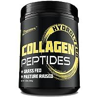 Premium Hydrolyzed Collagen Peptides (21oz) - Best Value, Non-GMO, Grass-Fed, Gluten-Free...