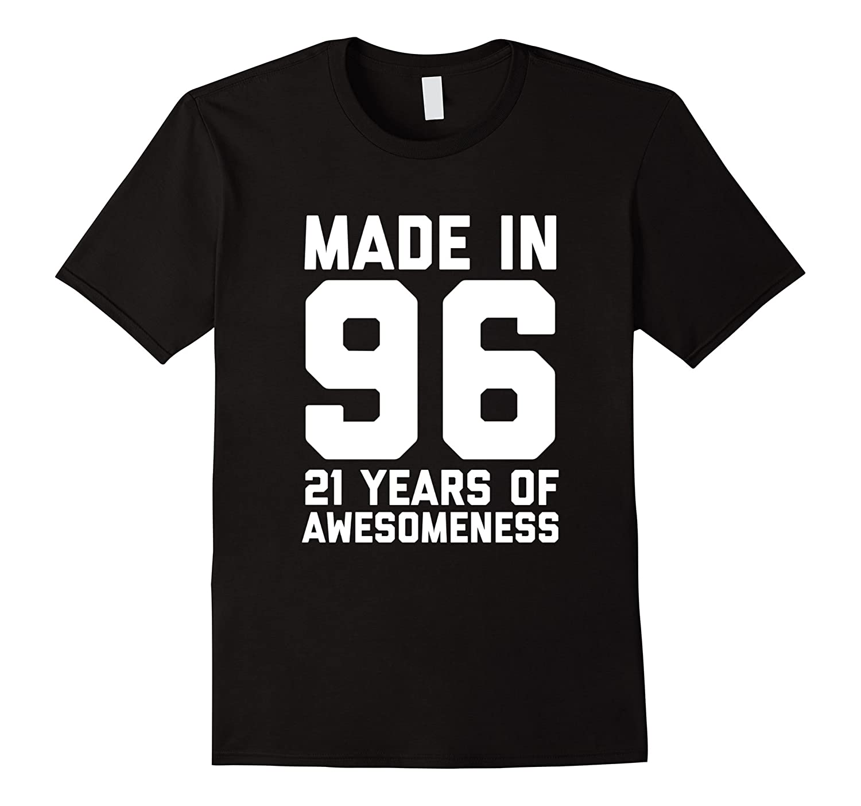 21st Birthday Shirt Gift Age 21 Year Old Mens Womens Tshirt-FL