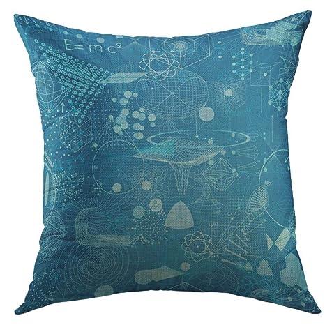 DDOBY - Funda de almohada con símbolos de geometría sagrados ...