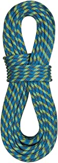product image for BlueWater Ropes 10.5mm Accelerator Standard Dynamic Single Rope (Blue/Black, 60M)