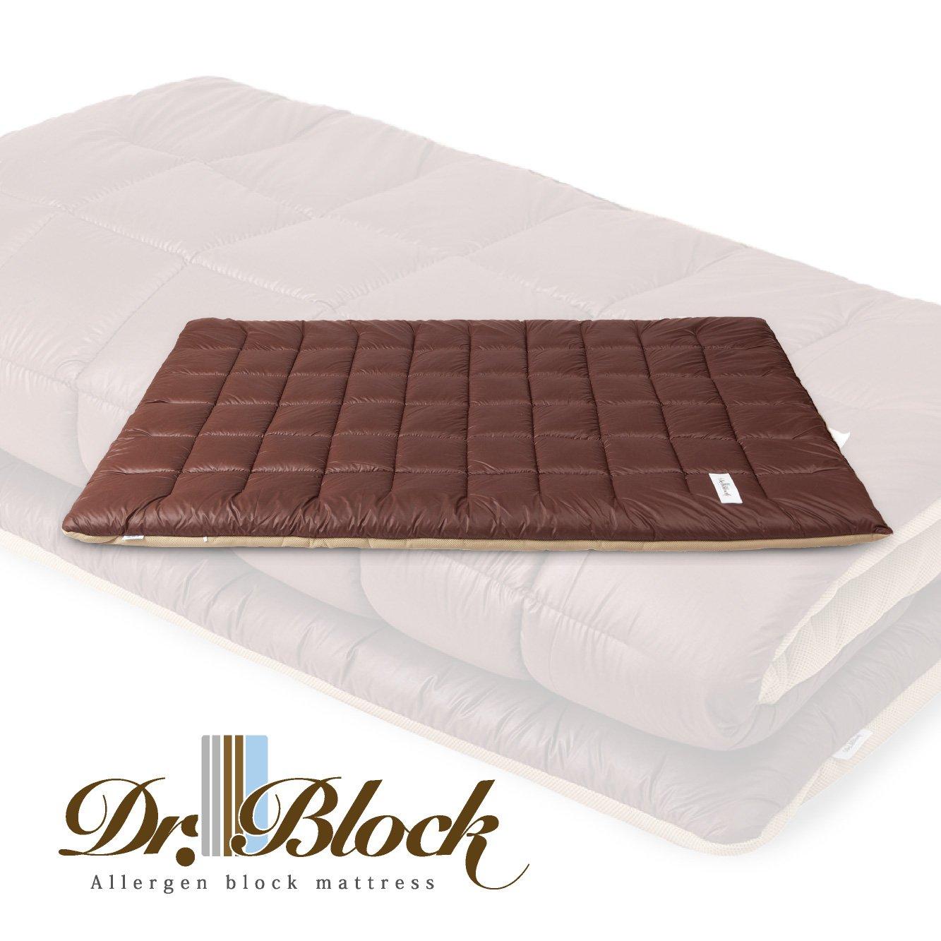 ドクターブロック Dr.Block 国産 防ダニ  敷布団 セミダブルサイズ B06XDGWVV4