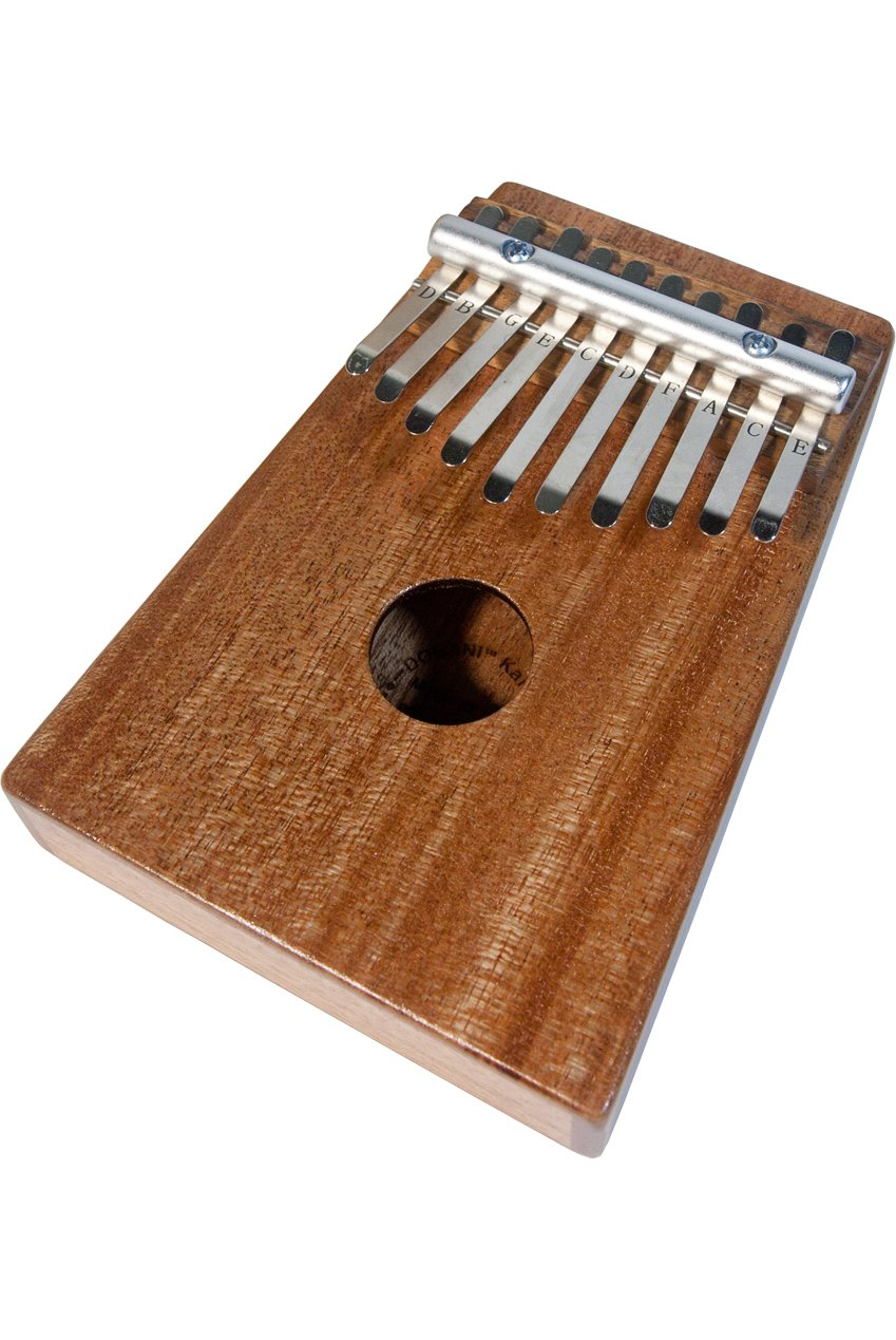 DOBANI 10-KEY KALIMBA THUMB PIANO - MAHOGANY WOOD