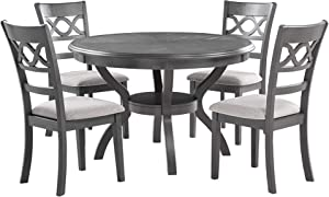 New Classic Furniture Cori Dining Set, Gray