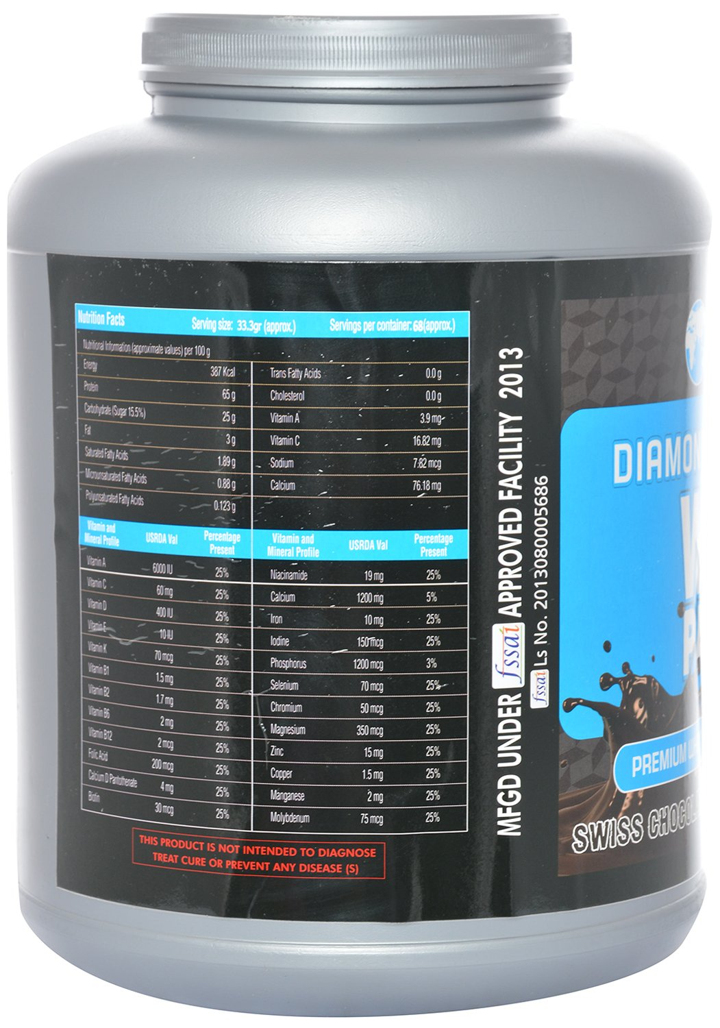 Infotech Nutrition Diamond Whey Protein 226 Kg Health Gold Standard 5 Lbs Optimum Wgs On 5lbs Lb 5lb Isolate Personal Care