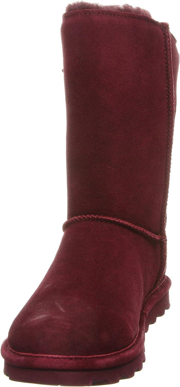 Bearpaw Clara, Botas Slouch para Mujer Rojo Wine 667 X18R5
