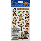 Disney Classic Flat Stickers, Chip N Dale