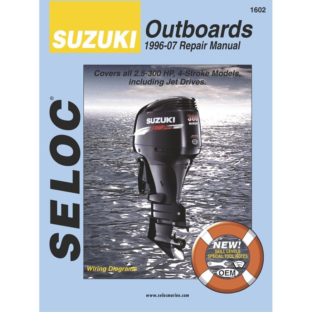 Amazon.com: Seloc Suzuki 4-Stroke Outboard Engine Repair Manual, 1996-2007:  Manufacturer: Sports & Outdoors