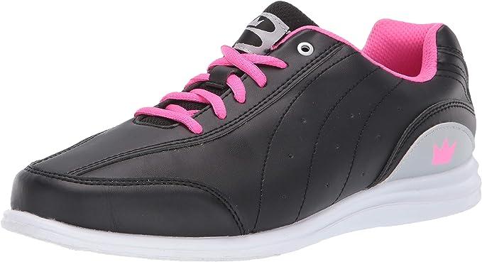 Mystic Black/Pink Bowling Shoes