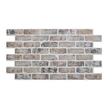 Ziegelstein Shabby Steinwand Wandverkleidung Kunststein Wand