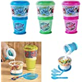 1 X Cereal On The Go Cup EZ Freeze Gel Travel Food Storage Snack Container Keeper !!
