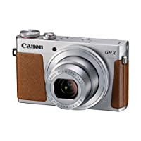 Canon PowerShot G9 X Fotocamera Compatta, 20.2 Megapixel, Argento