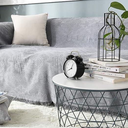 YYRZGW Cojín de sofá de usos múltiples de Color Blanco ...