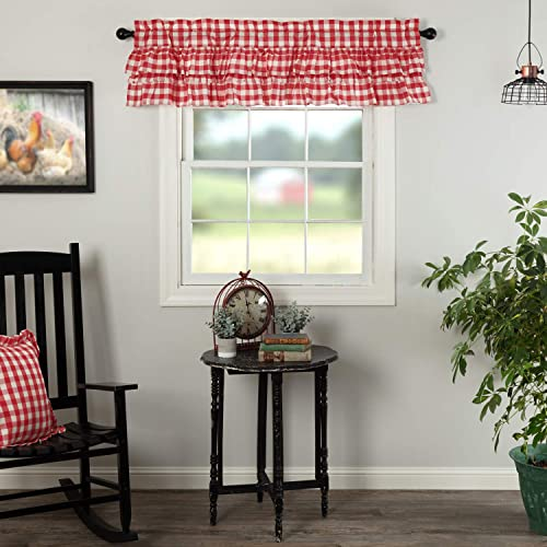 VHC Brands Annie Buffalo Check Curtain