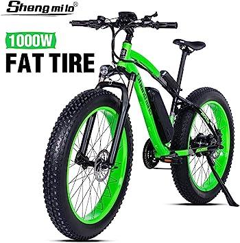 Shengmilo-MX02 26 Pulgadas Bicicleta eléctrica neumático Gordo ...