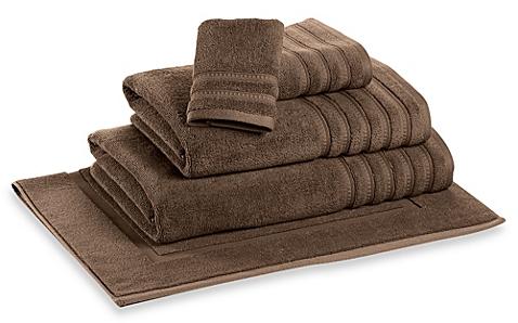 DKNY Luxe Hand Towel (Brown) - BedBathandBeyond.com
