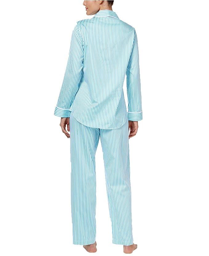 Lauren Ralph Lauren - Pijama - para mujer Azul azul S: Amazon.es: Ropa y accesorios