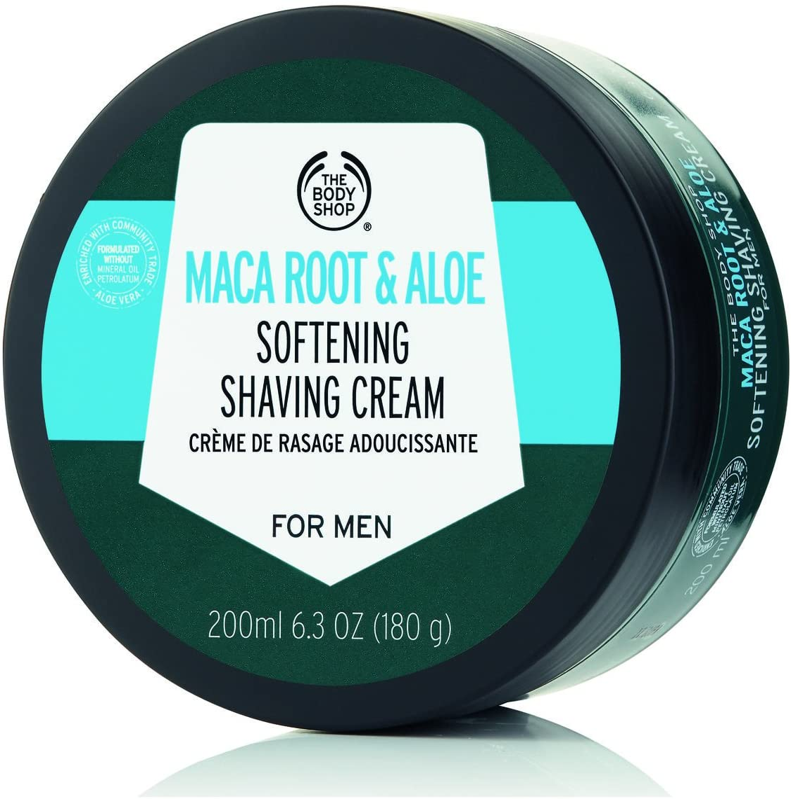 The Body Shop - Crema de afeitar de raíz de maca y aloe para ...