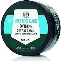 The Body Shop Maca Root & Aloe Crema de Afeitado Suavizante para Hombres, 6.3 oz