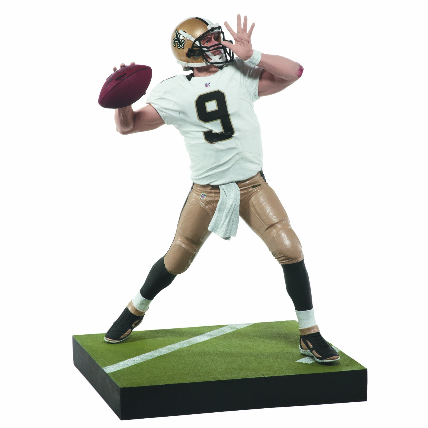 Amazon McFarlane Toys NFL Series 31 Drew Brees Action Figure