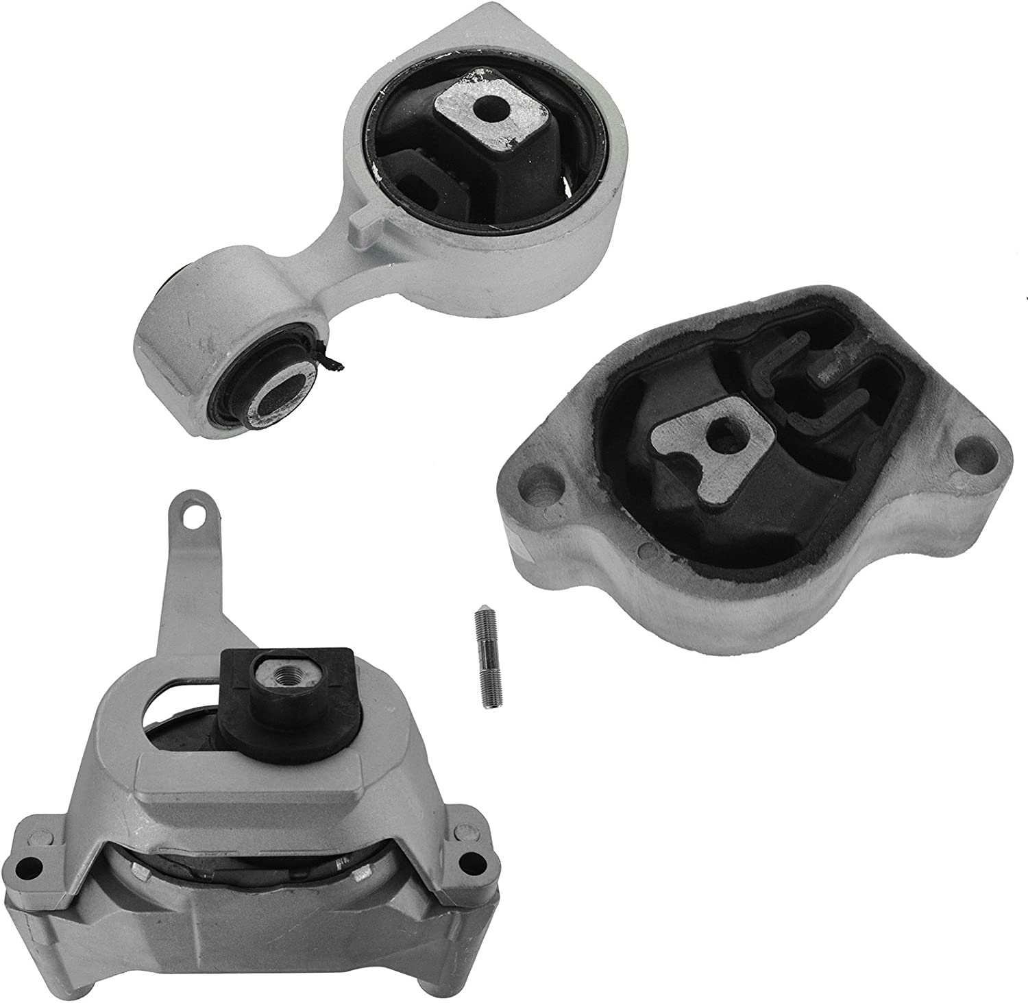 Engine Motor Mount Kit Set of 3 for Nissan Altima 2.5L