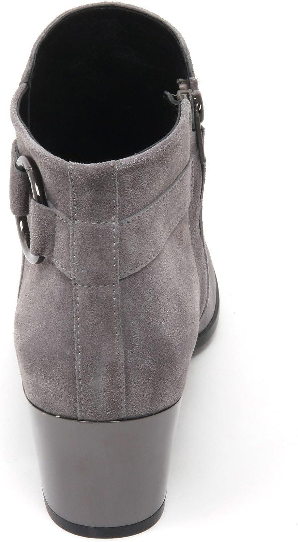 B7414 tronchetto donna HOGAN H272 stivaletto grigio boot shoe woman