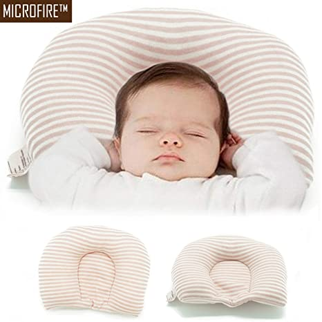 Buy Microfibre Newborn Baby Head Shaping Pillow (0-6 Months