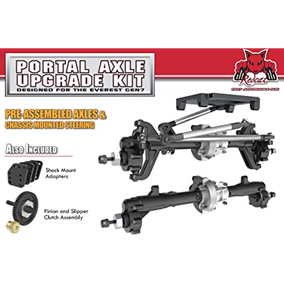Redcat Racing Portal Axle Kit Designed For The GEN7 Scale Crawler: Toys & Games