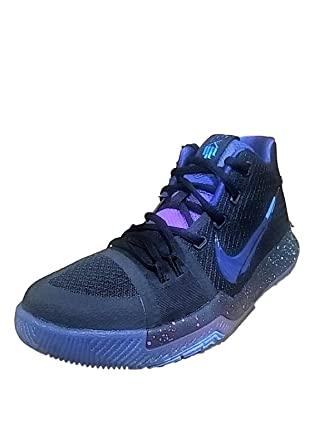 8a6b3d3983e8 Nike Boys Kyrie 3 (GS) Black Deep Royal Flip the Switch Basketball Shoes  size 4.5y  Amazon.co.uk  Clothing
