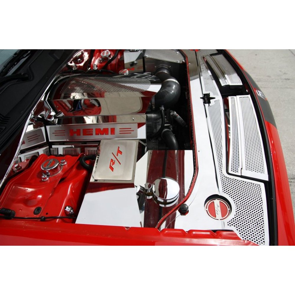 Upgrade Your Auto Fuse Box Plate W Black R T Inlay For 2010 Challenger 08 15 Dodge Charger Acc Cover Automotive