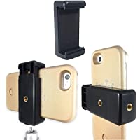 Techlife Universal Mobile Holder Tripod Attachment For Selfie Stick (Black)