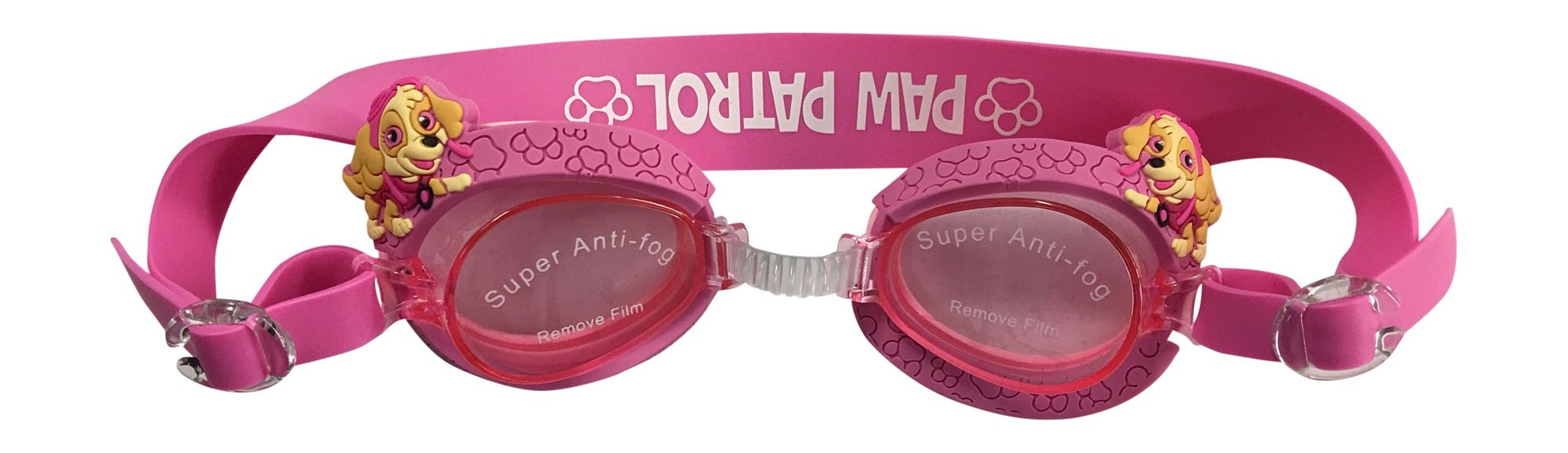 Girls Paw Patrol Swimming Goggles with Travel case by Nickelodeon
