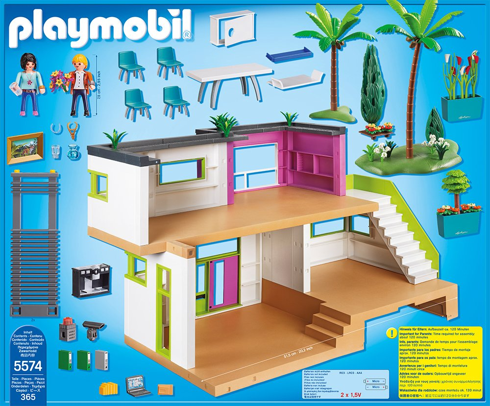 PLAYMOBIL 5574 - Luxusvilla City Life: Amazon.de: Spielzeug