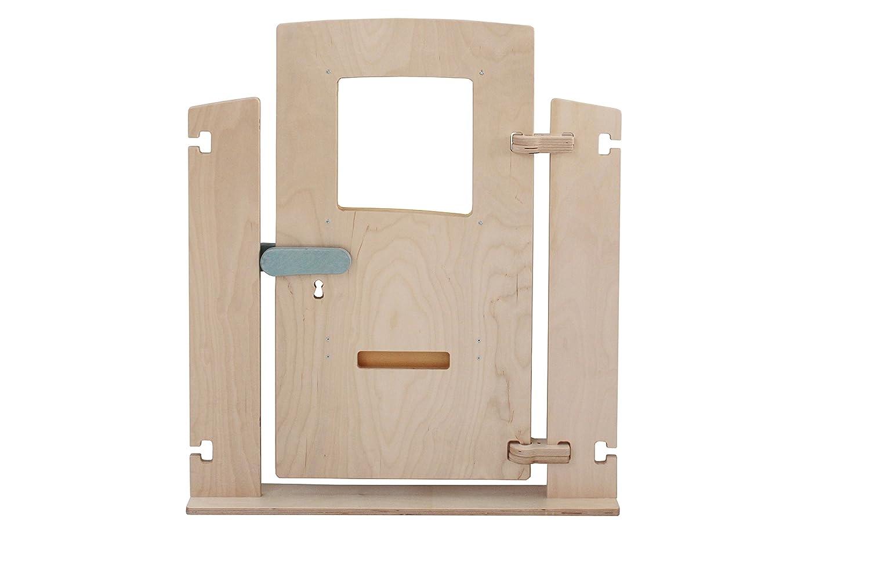 Holzklang holzklangr-007 75 x 88 cm Tür Tür Tür Platz Teiler Spiel bc7018