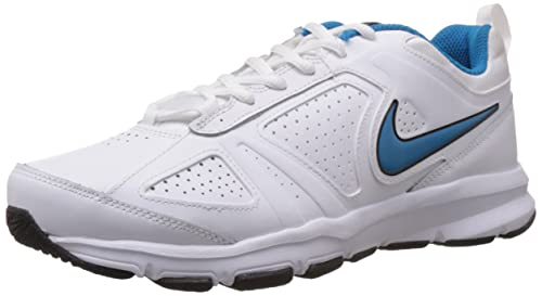 outlet store 51333 94ce6 Image Unavailable. Image not available for. Colour  Nike Men s T-Lite XI  White,Light Blue Lacquer,Black Outdoor Multisport Training