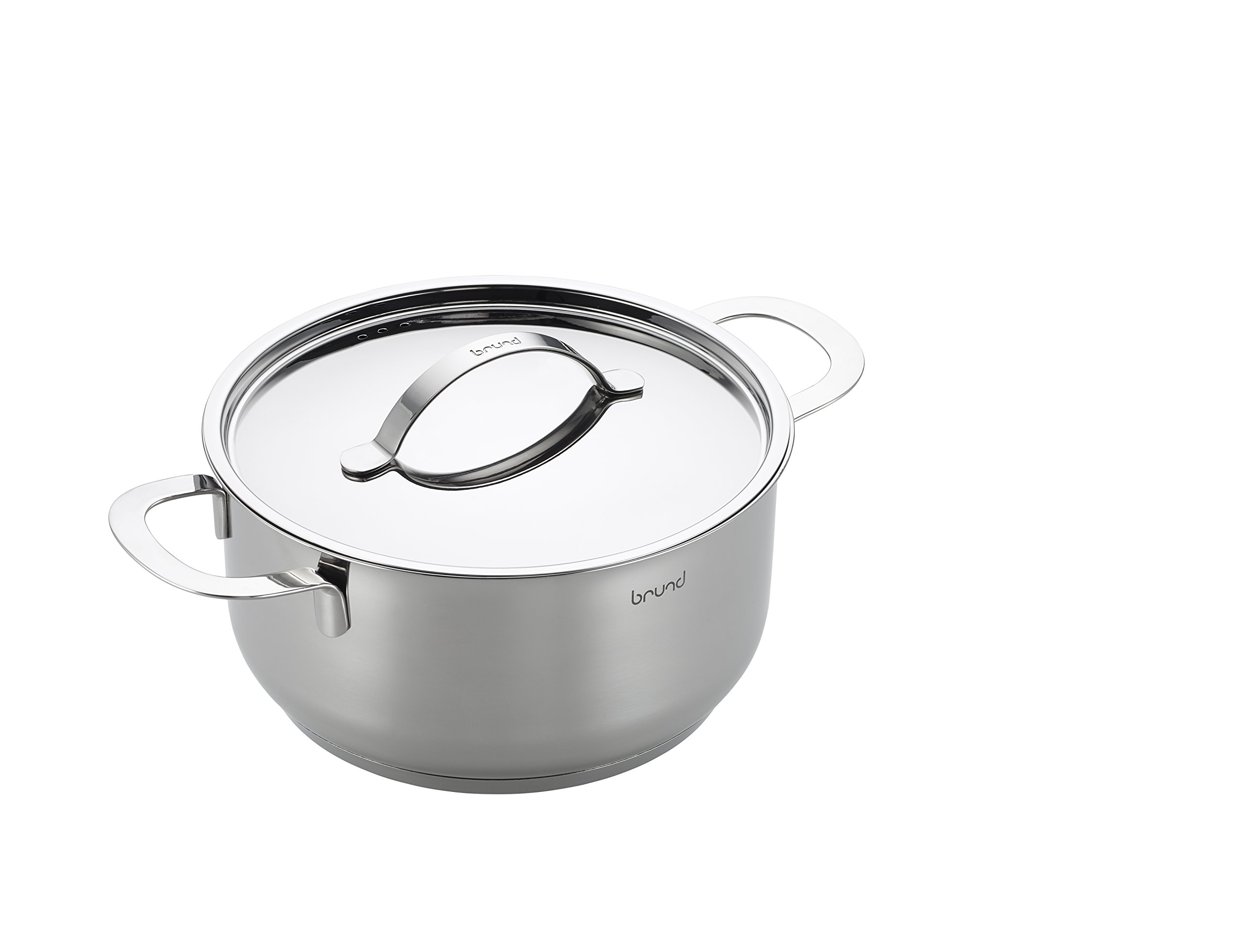 Brund Energy Dutch Oven, 4 Quart, Stainless Steel