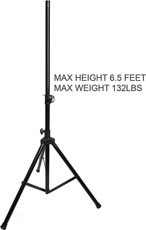 5.50 x 5.50 x 40.50 5.50 x 5.50 x 40.50 LYSB00B5218GW-ELECTRNCS EMB Tripod Stage Speaker Speaker Stand