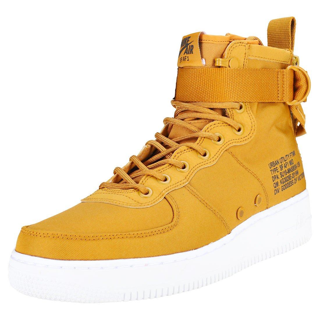 Nike Nike Nike Sf Af1 Mid - desert ochre sequoia-Weiß 0325c6
