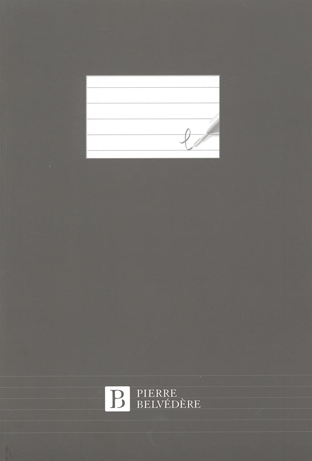 Pierre Belvedere Executive A5 Notebook Refills, White/Lined (177510)