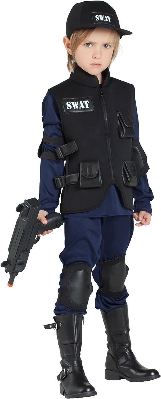 Banyant Toys, S.L. Disfraz DE POLICIA SWAT: Amazon.es: Juguetes y ...