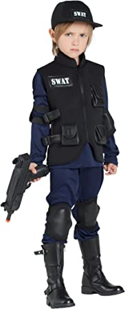 Banyant Toys, S.L. Disfraz DE POLICIA SWAT: Amazon.es ...