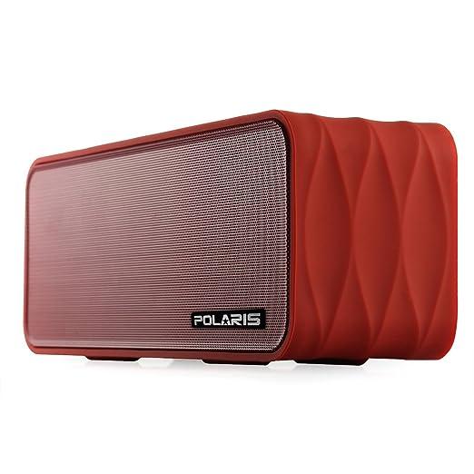 36 opinioni per Polaris V8- 9W (4.5WX 2) altoparlante Bluetooth portatile con radio FM, micro SD
