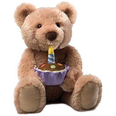 Gund Birthday Teddy Bear Animated Musical Stuffed Animal: Toys & Games
