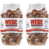 Wege Of Hanover Sourdough Hards Pretzels- Two 28 oz. Barrels
