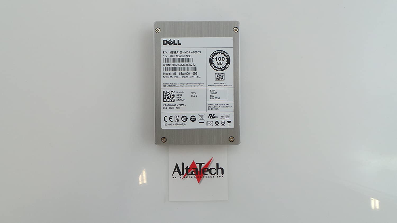 Dell SSD 100GB, DYW42
