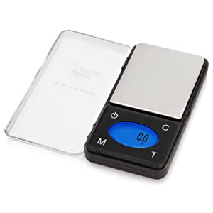 Smart Weigh High Precision Ultra Slim Digital Portable Pocket Scale with Counting Feature,Jewelry Scale,Food Kitchen Scale, 600 x 0.1 grams