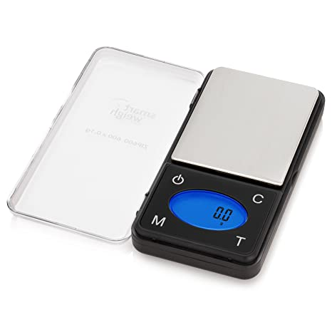 Smart Weigh Zip600 Ultra Slim Digital Pocket Scale With Counting Feature Gram Scale And Ounce Scale 600g By 0 1g